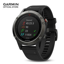 Garmin Fenix 5x, Sapphire, Slate Gray, GPS Watch, SEA