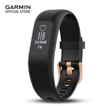 Garmin Vivosmart 3 Black, Rose Gold Buckle - Small / Medium