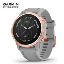 GARMIN Fenix 6S Sapphire - Rose Gold with Powder Gray Band (42mm.)