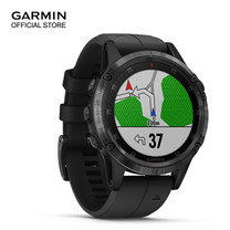 Garmin Fenix 5 Plus, Sapphire DLC Carbon Gray with Black Band