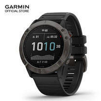 GARMIN Fenix 6X Sapphire - Carbon Gray DLC with Black Band (51mm.)