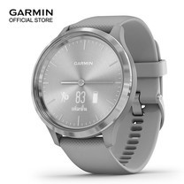 Garmin vivomove 3 - Silver with Powder Gray Band