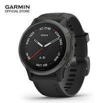 GARMIN Fenix 6S Sapphire - Carbon Gray DLC with Black Band (42mm.)