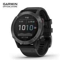 GARMIN Fenix 6 Sapphire - Carbon Gray DLC with Black Band (47mm.)