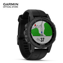 Garmin Fenix 5s Plus, Sapphire Black with Black Band