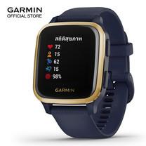 Garmin Venu SQ Music. NFC - Navy/Light Gold