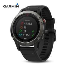Garmin Fenix 5x , Sapphire , Slate Gray , GPS Watch , SEA