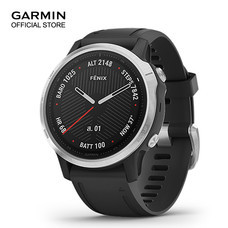 GARMIN Fenix 6S - Silver with Black Band (42mm.)