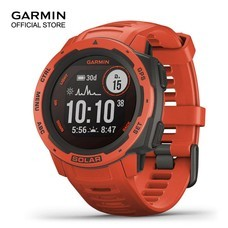 Garmin Instinct Solar - Frame Red