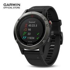 Garmin Fenix 5x, Sapphire, Slate Gray, GPS Watch, SEA