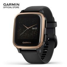 Garmin Venu Sq Music - Black/Rose Gold