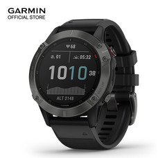 GARMIN Fenix 6 Sapphire - Carbon Gray DLC with Black Band (47mm.)
