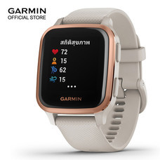 Garmin Venu SQ Music. NFC - Light Sand/Rose Gold