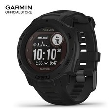 Garmin Instinct Solar - Tactical, Black