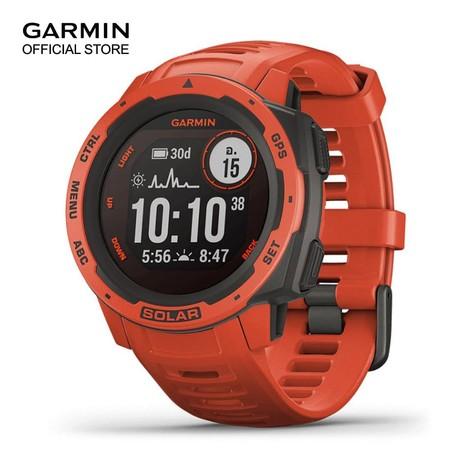 Garmin Instinct Solar - Frame Red