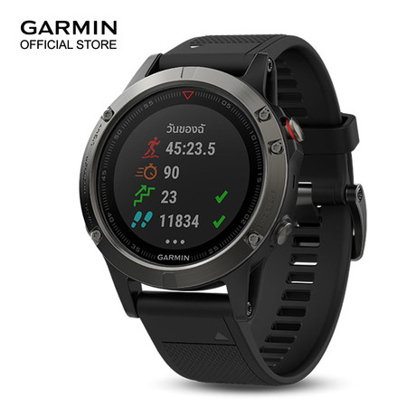 Garmin Fenix 5x , Sapphire , Slate Gray , GPS Watch , SEA