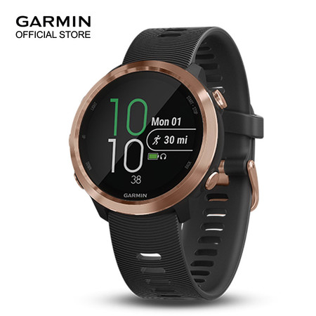 Garmin Forerunner 645 Music - Black & Rose Gold