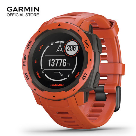 Garmin Instinct, Flame Red