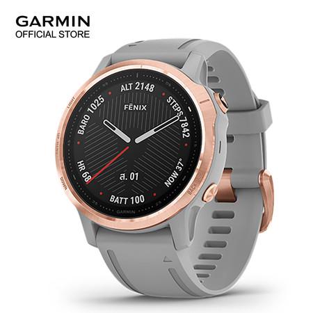 GARMIN Fenix 6S Sapphire - Rose Gold with Powder Gray Band