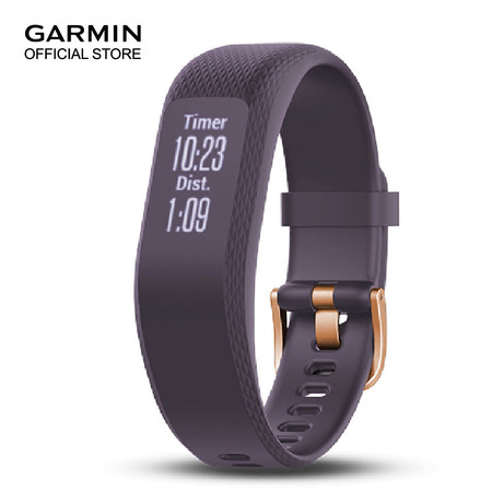 Garmin Vivosmart 3 Purple,Rose Gold Buckle - Small / Medium