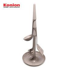 Konion Kitchen Utensils Set ชุดอุปกรณ์ประกอบอาหาร 4 ชิ้น รุ่น KL-001 - สีเทา