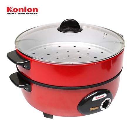 Konion กระทะไฟฟ้าเคลือบเทฟลอน 3 ลิตร รุ่น GP-0101
