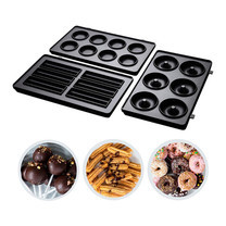 Russell Hobbs Fiesta 3 Pack Treat Plates For24540-56 แผ่นเปลี่ยน Cup cakes, Mini donuts, Churros รุ่น 25490-56