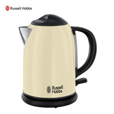 Russell Hobbs กาต้มน้าไฟฟ้า Classic Cream Compact Kettle รุ่น 20194-70