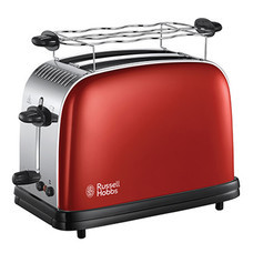 RUSSELL HOBBS  Flame Red 2 slice toaster เครื่องปิ้งขนมปัง รุ่น 23330-56