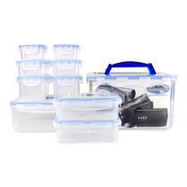 Super Lock กล่องถนอมอาหาร เซท 20 ชิ้น รวมฝา (10 กล่อง) รุ่น 5051-S20