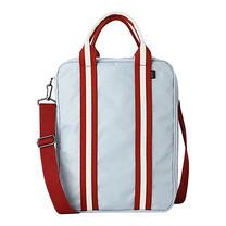 กระเป๋าเดินทางสะพายข้าง - สีเทาแดง