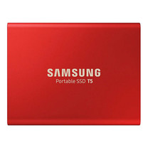 Samsung External SSD T5 Portable - Red
