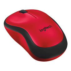 Logitech Silent Wireless Mouse M221 - Red (รับประกัน 3 ปี)