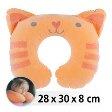 INTEX หมอนรองคอสำหรับเด็ก - แมวส้ม