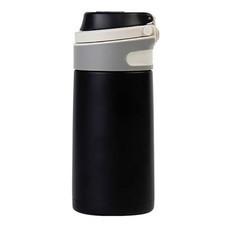 Super Lock ขวดน้ำสแตนเลส เก็บร้อน-เย็นได้นาน 350 ml. รุ่น S134 - สีดำ