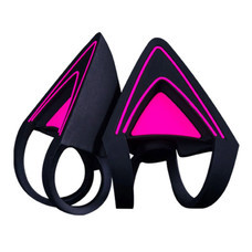 Kitty Ears For Razer Kraken - Neon Purple