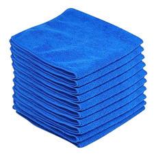 แพ็ค 6 ชิ้น ผ้าไมโครไฟเบอร์ 40x40 ซม. - สีน้ำเงิน