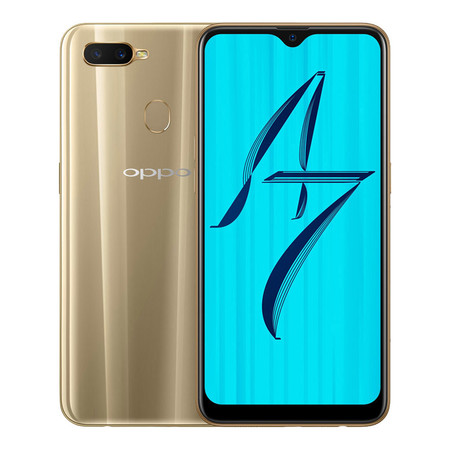 OPPO A7 - Gold