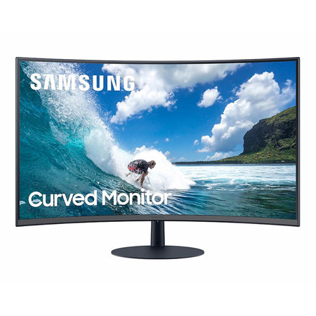 Samsung Gaming Curved Monitor 27 Inch LC27T550FDEXXT