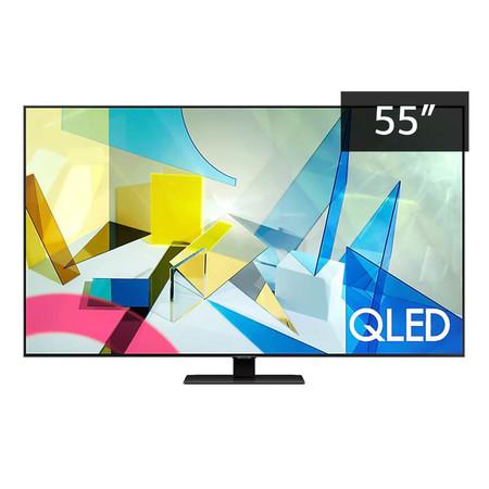 Samsung QLED 4K Smart TV QA55Q80TAKXXT ขนาด 55 นิ้ว