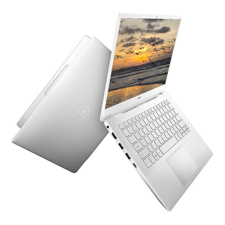 Dell Inspiron 14 10th Generation Intel® Core™ i5-10210U Ram 8 GB SSD 512 GB 14.0-inch FHD GF MX230 2 GB Silver W56605327PTHW10