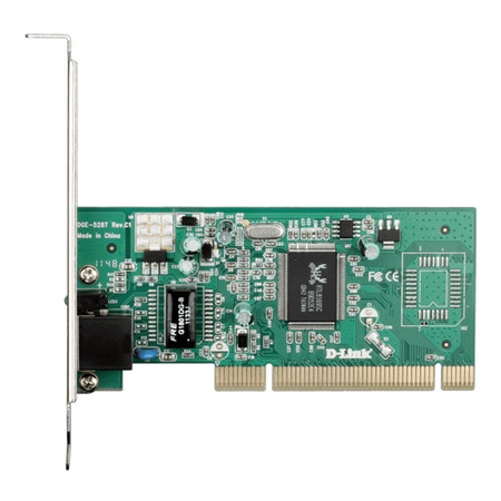 D-Link Gigabit Desktop PCI Adapter DGE-528T