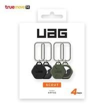 UAG เคสสำหรับ Apple AirTags รุ่น Scout แพ็ก 4 (Black 2 / Olive 2)