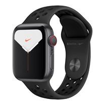 Apple Watch Nike+ ซีรีย์ 5 รุ่น GPS + Cellular ตัวเรือนอะลูมิเนียม สีเทาสเปซเกรย์ พร้อมสาย Nike Sport Band สี Anthracite/Black ไซส์ 40 มม.
