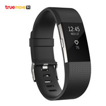 Fitbit Charge 2 - Black/Silver (Small)