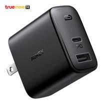 ที่ชาร์จ Aukey Swift Mix 30W Dual-Port PD Charger - Black