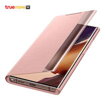 Samsung เคส สำหรับ Samsung Note20 Ultra รุ่น Clearview case - สีชมพู Copper