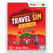 TRAVEL SIMGREATER CHINA