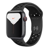 Apple Watch Nike+ ซีรีย์ 5 รุ่น GPS + Cellular ตัวเรือนอะลูมิเนียม สีเทาสเปซเกรย์ พร้อมสาย Nike Sport Band สี Anthracite/Black ไซส์ 44 มม.