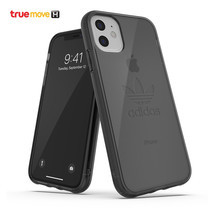 Adidas Protective Trefoil Clear Case For iPhone 11 - Smoke